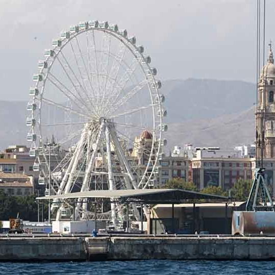 Malaga Ferris Wheel Noria Mirador Princess 02
